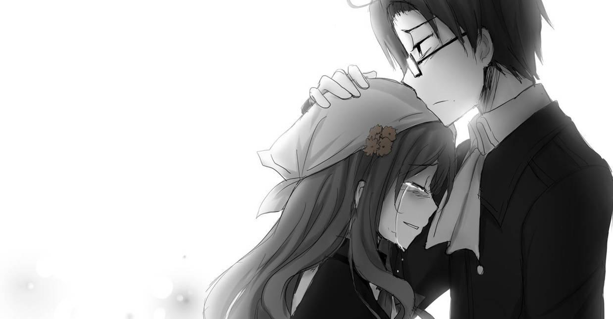 ...please, don't cry. by KurohaAi