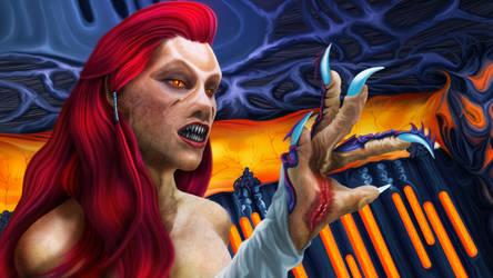 Wraith Queen Sally by exobiology