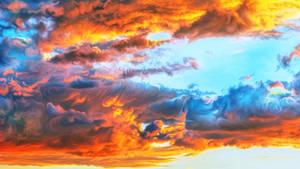 Sky on fire by exobiology