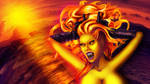 Mad Dolores Goddess of fire by exobiology