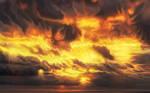 Ardor planet burning sky by exobiology