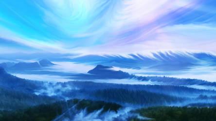 Ardor planet misty forest by exobiology