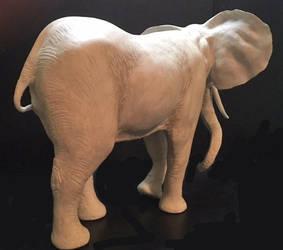 Elephant-rear-side by ArtOfElysee