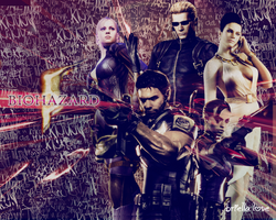 Biohazard 5 Wallpaper by BriellaLove