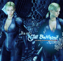 Jill Valentine Battlesuit by BriellaLove