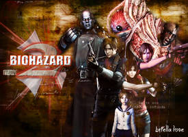 Biohazard 2 Wallpaper by BriellaLove