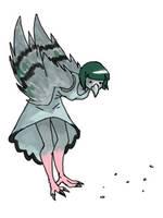 Monster Girl Challenge - Harpy by Tspuun