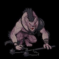 Yeenoghu, the Beast of Butchery by Tspuun