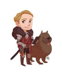 Mini Cullen by fydraws