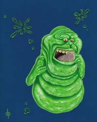 Slimer! by DwaynePinkney