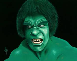 The Incredible Hulk by DwaynePinkney