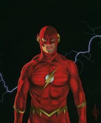 The Flash-1 by DwaynePinkney