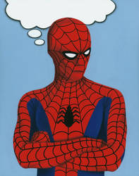 Classic Spider-Man from The Electric Company by DwaynePinkney