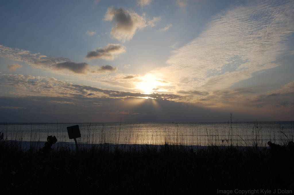 Sunset Again Barefoot Beach by Focus-Fire