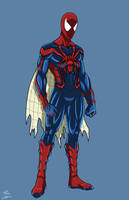 Spider-man Unlimited-redesign by GIANT-EATER