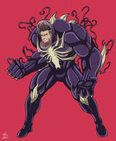 Ultimate Venom by GIANT-EATER