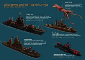 RA2 Mod- Soviet Naval Units by Harry-the-Fox