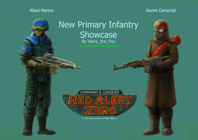 RA2 Mod- Marine and Conscript by Harry-the-Fox