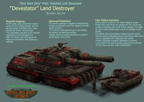 RA2 Mod- Soviet Devastator by Harry-the-Fox