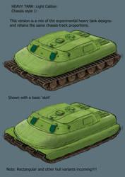 RM- Heavy Tank- basic hull shape part 1 by Harry-the-Fox