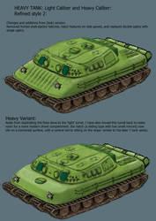 RM- Heavy Tank Enhanced comparison by Harry-the-Fox