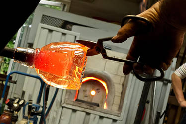 red hot liquid glass by thanks4fish