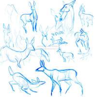 Oh Deer by weremagnus