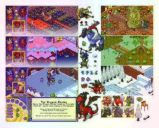 The Dragon Realms on Furcadia by weremagnus