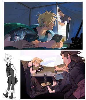 Final Fantasy XV by weremagnus