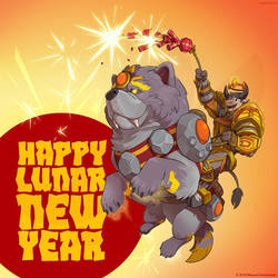 Warcraft Lunar New Year by weremagnus