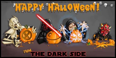 Halloween with the Dark Side by weremagnus