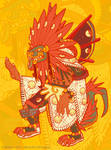 Quetzalcoatl by weremagnus