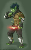 orc rogue by weremagnus