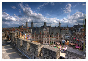 City of Ghent by rhipster