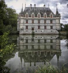 chateau d'Azay-le-Rideau II by rhipster