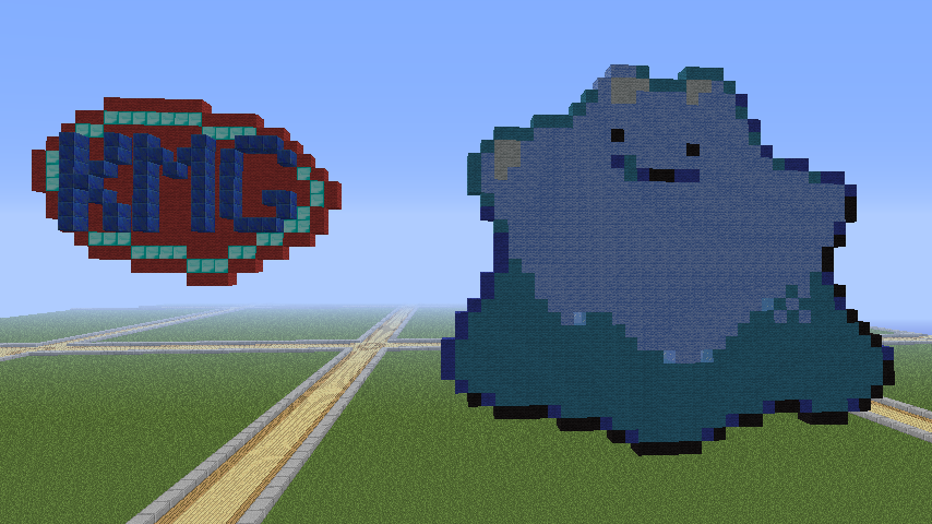 Minecraft Pokemon Pixel Art Shiny Ditto By Kmg001 On Deviantart