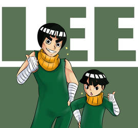 Lee Family Picture by MintAnnComics