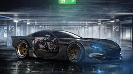 Mazda RX-Vision by DanMak