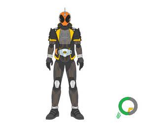 Kamen Rider Ghost Ore Damashii by tokuheroes