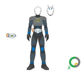 Kamen Rider Spectre Transient by tokuheroes