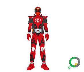 Kamen Rider Ghost Toucon Boost Damashii by tokuheroes