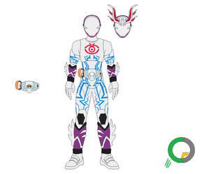 Kamen Rider Deep Spectre Transient by tokuheroes