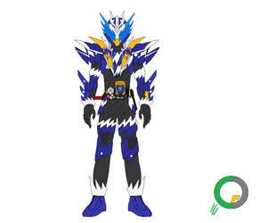 Kamen Rider Cross Z Dragon Sparkling Form by tokuheroes