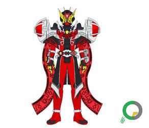 Kamen Rider Geiz Wizard Armor by tokuheroes