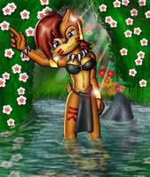 Sally Tribal by Lord-Kiyo