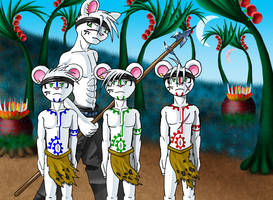 A Meask Ceremony by Lord-Kiyo