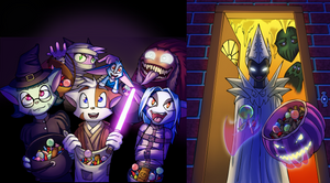 DreamKeepers Trick or Treat by Lord-Kiyo