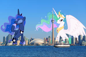 Giant princesses' diplomatic immunity by TheOtterPony