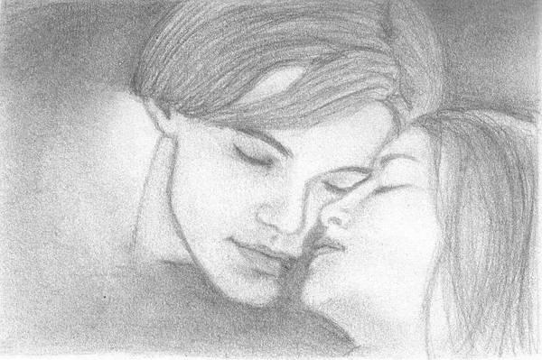 Romeo + Juliet drawing by ireene91