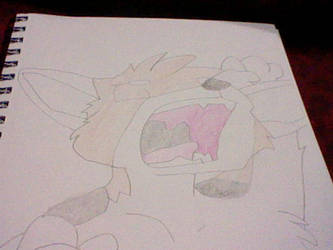 Yawning King by Megamaster256